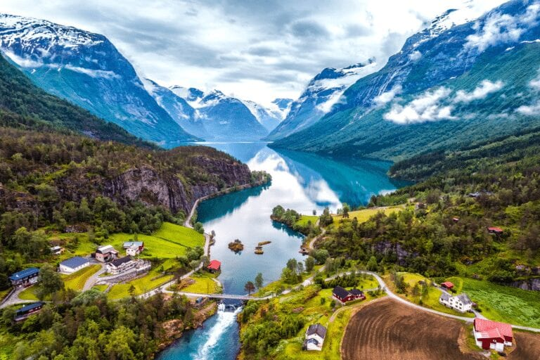 Escorted Motorhome Tours to Norway