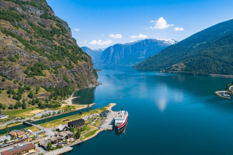 Motorhome Tour to Flam in Norway